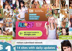 Adult pay site ranking with AllOgGfs review