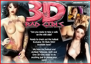 Adult pay site ranking with 3DBadGirls review