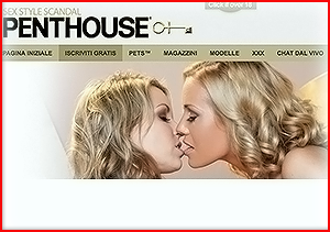 Adult pay website ranking with Penthouse review